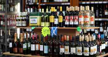 Alcohol sales in Scotland drop to lowest level for 26 years but remain higher than in England - Daily Record