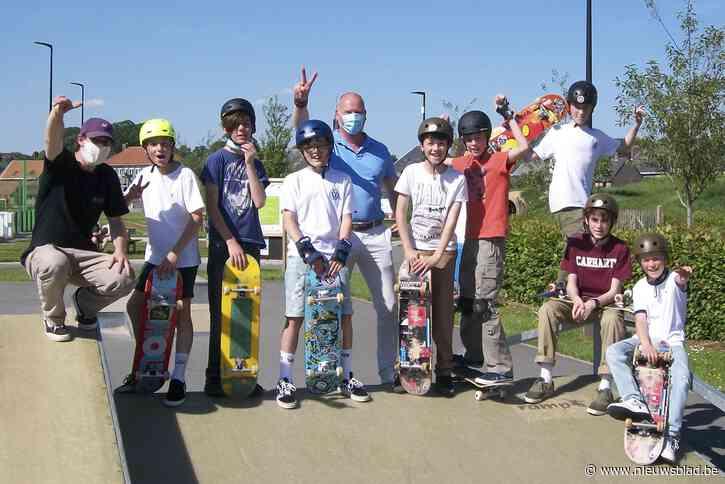 Skateboard-initiatie werd een groot succes