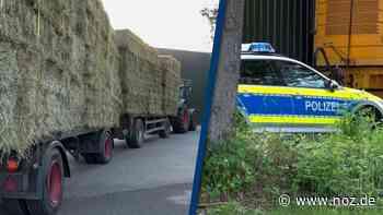Video: Grafschaft Bentheim: Landwirt stirbt beim Einlagern von Heu in Isterberg - noz.de - Neue Osnabrücker Zeitung