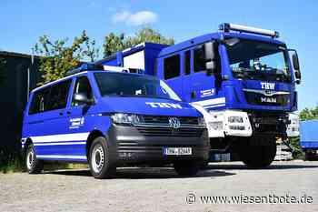 Im Doppelpack: THW Bad Staffelstein erhält neue Einsatzfahrzeuge - Der Neue Wiesentbote