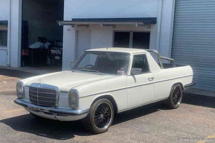 Crazy Australian Bastard Turns 70s Mercedes-Benz Sedan Into Fair Dinkum Ute