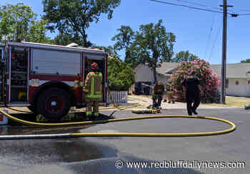 Fire consumes part of Lake California home - Red Bluff Daily News