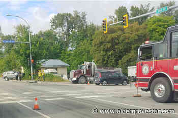 UPDATE: Driver treated for minor injuries after 2 vehicle crash in Langley – Aldergrove Star - Aldergrove Star