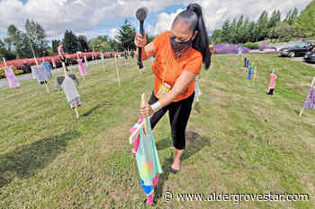 VIDEO: 215 crosses go up in Langley to remember Kamloops residential school children – Aldergrove Star - Aldergrove Star