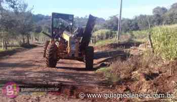 Linha Bandeirantes recebe melhorias em Estradas Rurais - Guia Medianeira