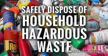 City of Ottawa holding an extended household hazardous waste depot - StittsvilleCentral.ca
