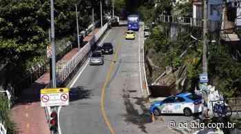Avenida Niemeyer sofre intervenção após desnivelamento de pista - O Dia