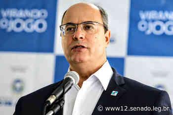 CPI da Pandemia ouve Wilson Witzel, ex-governador do Rio de Janeiro, na quarta - Agência Senado