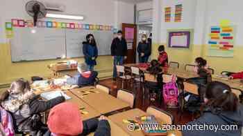 Cómo fue la vuelta a clases presenciales en San Isidro - zonanortehoy.com