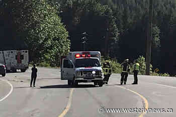 Highway 4 reopens after accident at Taylor River Flats - Tofino-Ucluelet Westerly News