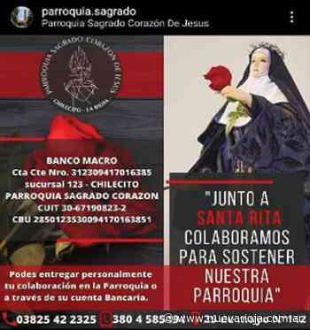 Piden colaboración para las obras del Santuario - Nueva Rioja