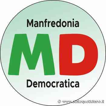 """Della Patria - Caterino: """"Eccoci. Nasce Manfredonia Democratica"""" - StatoQuotidiano.it"""