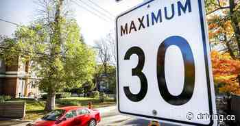 Dorval reduces speed limit to 30 km/h on most streets - Driving