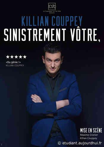 Killian COUPPEY dans Sinistrement Vôtre - L'ODEON, Perols, 34470 - Sortir à France - Le Parisien Etudiant