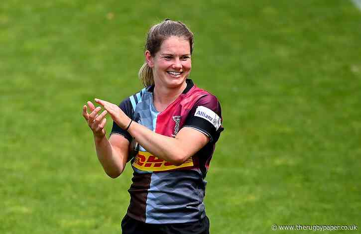 Leanne Riley joins Abbie Ward is swapping Harlequins for Bristol
