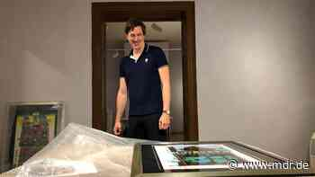 Apolda: Hundertwasser-Werke im Kunsthaus Avantgarde eingetroffen - MDR