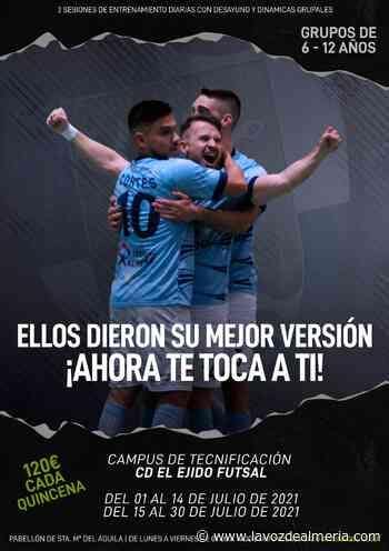 El CD El Ejido Futsal lanza su Campus de Tecnificación para niños - La Voz de Almería