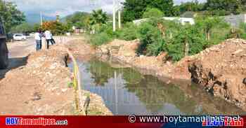 Exigen solucionar fuga de aguas negras en el Ejido la Misión en Ciudad Victoria - Hoy Tamaulipas
