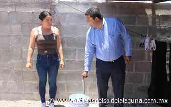 Supervisa Homero Martínez ampliación de red de agua potable en el ejido 6 de enero - Noticias del Sol de la Laguna
