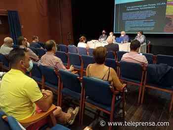 Reunión en El Ejido con el sector agrícola para informar sobre la próxima edición de la Feria AgroIberia - Teleprensa periódico digital