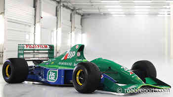 You Can Now Own Racing Legend Michael Schumacher's First F1 Racecar for $1.8 Million - Robb Report