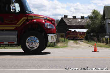 Fire at heritage tobacco barn in Kelowna doused by residents – Salmon Arm Observer - Salmon Arm Observer
