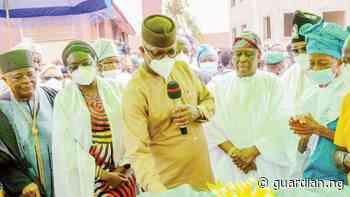 Abiodun commissions Lantoro-Elite-Idi-Aba Road in Abeokuta - Guardian