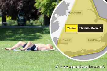 Yellow weather warning in place for Yate, Sodbury Dursley and Thornbury | Gazette Series - South Cotswolds Gazette