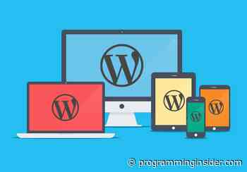 How to Approach the WordPress Web Design Process - Programming Insider