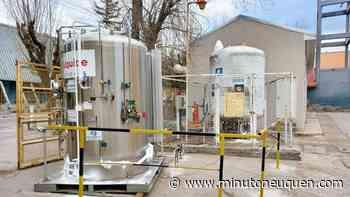 El hospital de Zapala tiene un nuevo tanque de oxígeno - Minuto Neuquen
