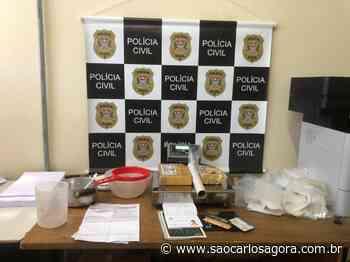 Polícia Civil prende acusado de tráfico em Porto Ferreira - São Carlos Agora