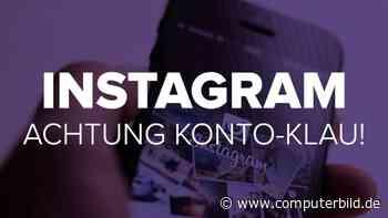 Instagram: Achtung Konto-Klau!