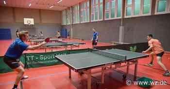 Tischtennis-Start mit Elan und kleinen Hindernissen - Westdeutsche Zeitung