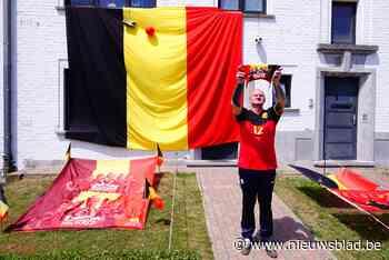 Malem is er klaar voor: heeft Mark de grootste driekleur van Gent hangen? - Het Nieuwsblad