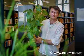 Welkom in het 'plantenhotel': bibliothecaris helpt planten o... (Gent) - Het Nieuwsblad