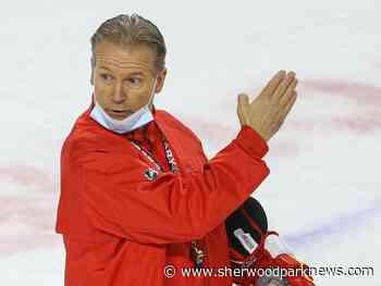 Former Flames bench boss Geoff Ward lands new gig with Ducks - Sherwood Park News