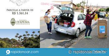 Drive-thru da Campanha do Agasalho acontece no Teixeira Marques em Limeira - Rápido no Ar