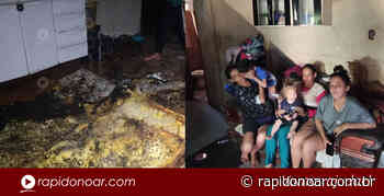 Família que teve casa incendiada precisa de roupas e alimentos em Limeira - Rápido no Ar