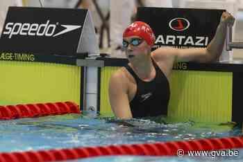 """Kimberly Buys neemt dit jaar afscheid van de zwemsport: """"Ik vind dat het mooi is geweest"""" - Gazet van Antwerpen"""