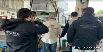 Operação contra fraude em postos de combustíveis prende dois gerentes em Araras - G1