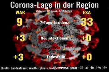 Corona im Wartburgkreis und Eisenach - Die Lage bleibt entspannt - inSüdthüringen