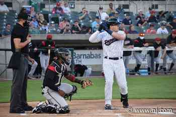 Yankees' Luke Voit sends message with rehab appearance for Double-A Somerset Patriots - NJ.com