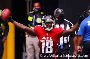 """Calvin Ridley """"pretty sure"""" he will finish rehab in time for start of camp - NBC Sports"""