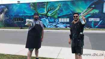 Tecumseh Road business owner hopes mural will breathe new life into South Walkerville - CBC.ca