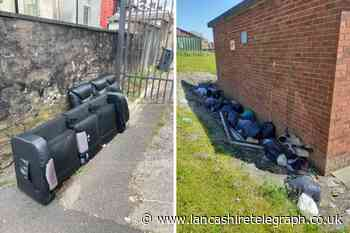 East Lancashire residents report fly-tipping, dogs fouling  and more