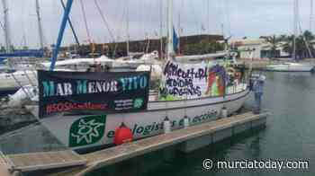 Shallow Water In The Mar Menor Forces Ecologistas En Acción Sailing Boat To Remain Outside The Lagoon - Murcia Today