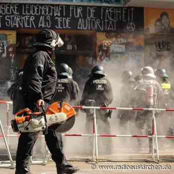 Polizei bricht für Brandschutztermin in «Rigaer 94» auf - radioeuskirchen.de