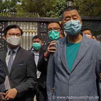 Hongkong: Chefs von pro-demokratischer Zeitung festgenommen - radioeuskirchen.de