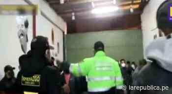 Santa Anita: detienen a 85 personas en fiesta de cumpleaños dentro de local clandestino - LaRepública.pe