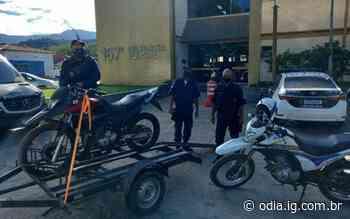 Moto roubada foi recuperada em Paraty - O Dia